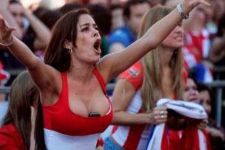 """Larissa Riquelme, la """"Novia del Mundial"""", sorprende con fuertes comentarios contra los peruanos"""