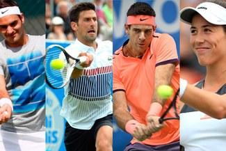 Wimbledon 2017 RESULTADOS: Federer, Djokovic, Del Potro y Muguruza ganaron en el Grand Slam