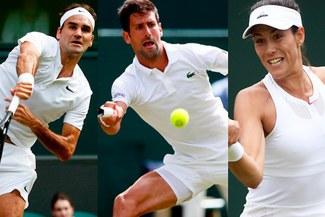 Wimbledon 2017 EN VIVO ONLINE: programacion y resultados de cuarto día con Federer, Djokovic y Muguruza en juego [RESULTADOS]
