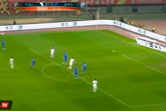 Alexandre Pato y su genial golazo en la Superliga de China [VIDEO]