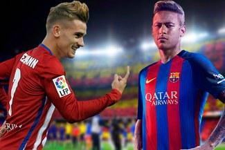 Barcelona quiere a Antoine Griezmann ante la inminente salida de Neymar al PSG
