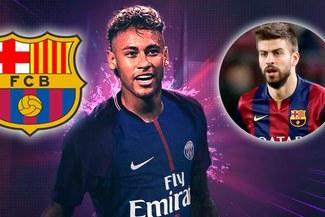 PSG se burla del Barcelona y Piqué tras el fichaje de Neymar [Twitter]