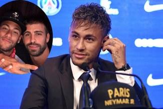Neymar Jr se refirió a la foto que publicó Gerard Piqué
