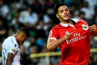 c56e89546b Benfica de Carrillo venció 3-1 al Vitoria Guimaraes de Hurtado y se coronó  campeón