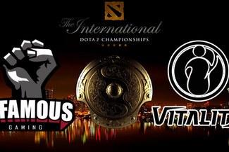 Dota 2: Infamous Gaming en el evento estelar de The International 2017 tras vencer a IG Vitality