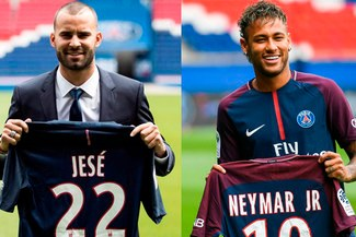 Jesé Rodríguez se marcha del PSG a causa de la llegada de Neymar