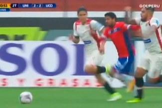 Universitario vs. Unión Comercio: la agresión de Juan Vargas a Reimond Manco que debió ser roja [VIDEO]