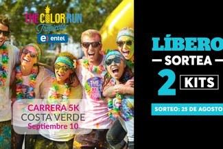Líbero te regala 2 kits para el The Color Run Entel ccfb449271014