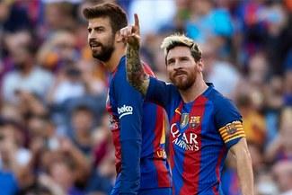"""Gerard Piqué sobre Lionel Messi: """"puede renovar cuando quiera"""""""