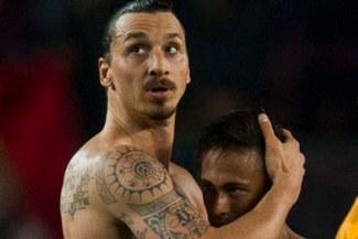 Zlatan Ibrahimovic le da su 'bendición' a Neymar en el PSG