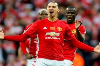 Manchester United: Zlatan Ibrahimovic fue inscrito para jugar la Champions League