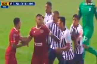 Alianza Lima vs. Universitario: la jugada de Alexi Gómez que originó una bronca en el clásico [VIDEO]