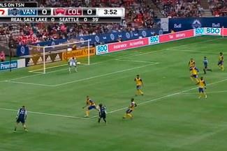 Yordy Reyna y su magistral pase con Vancouver Whitecaps en la MLS [VIDEO]