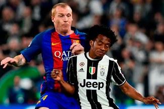 """Exjugador del Barcelona explota: """"Me culpan de la derrota con Juventus pero nadie dice nada de Mascherano o Piqué"""""""