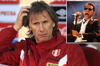 """Perú vs. Argentina: Ricardo Gareca prohíbe canciones de Marc Anthony porque """"dan mala suerte"""""""