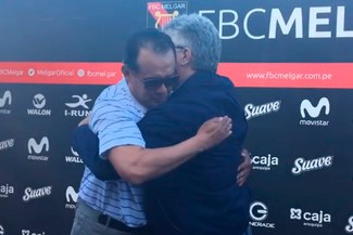 """Juan Reynoso se quebró en su despedida: """"Me voy agradecido con Melgar y Arequipa"""" [VIDEO]"""