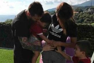 Barcelona: Antonella Rocuzzo le dio una increíble noticia a Lionel Messi