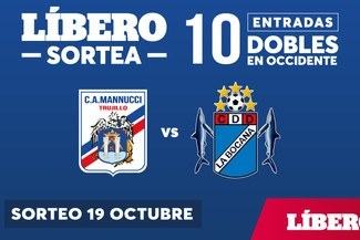 Líbero te regala 10 entradas para el encuentro entre Mannucci vs. La Bocana f0b009026f53e