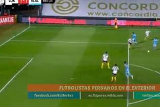 Cristian Benavente y su golazo desde fuera del área con el Sporting Charleroi  VIDEO