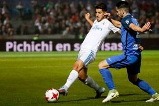 Real Madrid ganó 2-0 a Fuenlabrada en partido de ida de la Copa del Rey [VIDEO]