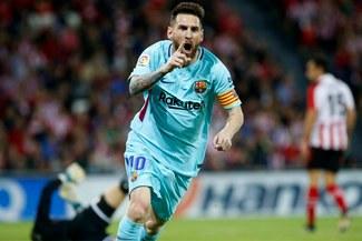 ¡MÁS PUNTERO QUE NUNCA! Barcelona ganó 2-0 a Athletic Bilbao por la Liga Santander