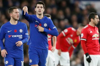 Chelsea venció 1-0 al Manchester United con gol de Álvaro Morata en la Premier League [VIDEO]
