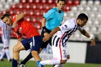 Libertad dio el primer golpe al vencer 1-0 a Independiente en la Copa Sudamericana [VIDEO]