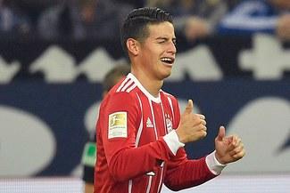 Bayern Múnich: James Rodríguez regresa al equipo titular