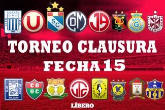 Torneo Clausura: Así quedó la tabla de posiciones tras jugarse la última jornada