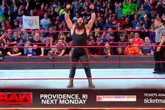 WWE RAW: Braun Strowman en incertidumbre pese a aniquilar a Kane [VIDEOS]