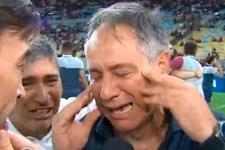 Independiente: las emotivas lágrimas de Ariel Holan tras lograr el título de la Copa Sudamericana [VIDEO]