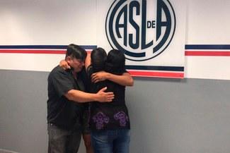 Elías Pereyra, el futbolista que le ganó a la leucemia, firmó su primer contrato con San Lorenzo