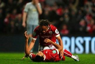 Bristol City sorprende y elimina con un gol agónico al Manchester United de la Copa de la Liga [VIDEO]