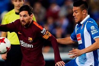 Barcelona cayó 1-0 ante Espanyol en la ida de cuartos de la Copa del Rey