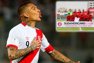 Paolo Guerrero y su emocionante saludo a la Selección Peruana Femenina Sub-20 [VIDEO]