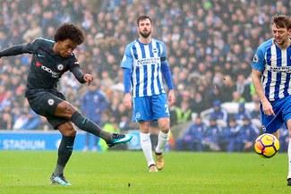 Chelsea goleó 4-0 a Brighton y se metió al segundo lugar de la Premier League [VIDEO]