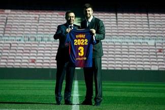 ¡OFICIAL! Gerard Piqué renovó con Barcelona e hizo una tremenda revelación