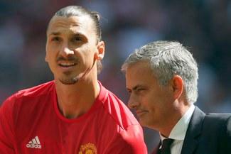 """José Mourinho: """"Si Ibrahimovic quiere irse del Manchester United, no le haré la vida difícil"""""""