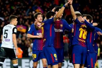 Barcelona con golazo de Luis Suárez venció 1-0 a Valencia por la Copa del Rey [VIDEO]