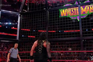 WWE Elimination Chamber: Roman Reigns gana y peleará con Brock Lesnar en Wrestlemania 34