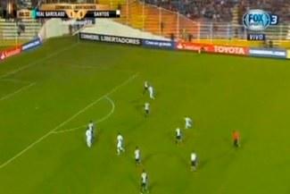 Real Garcilaso vs. Santos: Alfredo Ramúa y el golazo al ángulo ante brasileños [VIDEO]