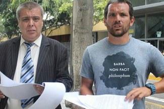 Antonio Meza Cuadra presenta propuestas en su candidatura oficial en la SAFAP