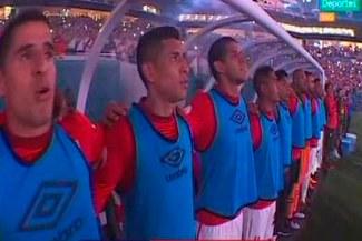 Perú vs. Croacia: El Hard Rock Stadium cantó a todo pulmón el himno nacional [VIDEO]