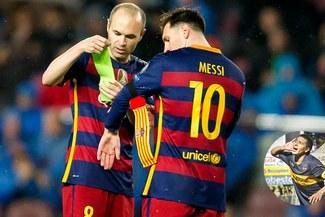 """Riquelme: """"Messi es el mejor del mundo, pero Iniesta..."""""""