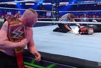 WWE Wrestlemania 34: AJ Styles, Brock Lesnar y Ronda Rousey triunfaron en el evento [VIDEO]