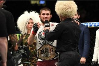 UFC 223: Khabib venció a Iaquinta y toma el cinturón de Conor McGregor [VIDEO]
