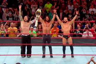 WWE Raw: Jeff Hardy regresó tras Wrestlemania 34 y brilló junto a Seth Rollins y Finn Bálor