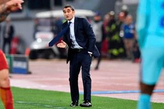Barcelona: Ernesto Valverde pidió disculpas a los fanáticos 'culés' por la eliminación ante la Roma