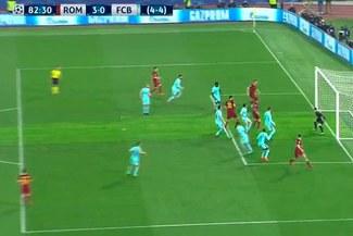 Barcelona vs. Roma: Manolas y su golazo para darle la clasificación a semifinales a los italianos