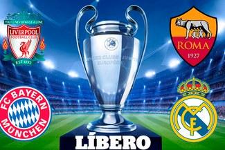 ¡FINAL ADELANTADA!  Bayern Munich vs. Real Madrid y Liverpool vs. Roma son las llaves de las semis de la Champions League